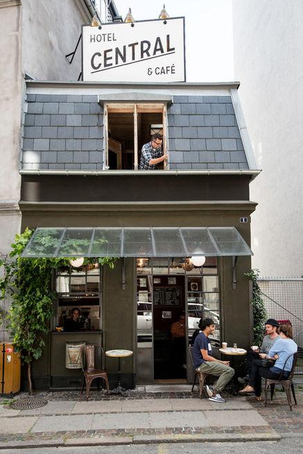Nejmenší kavárna na světě!