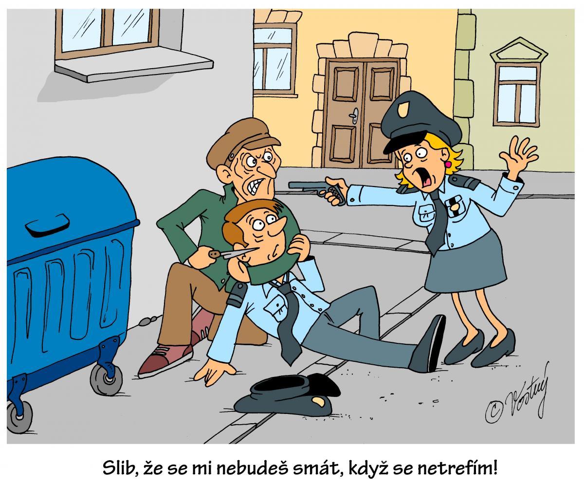 Jak Si Lide Predstavuji Policii Ve Svete Umelec Se S Tim Nemazal
