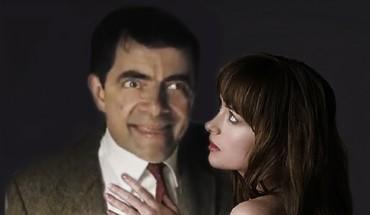 Jak by vypadalo 50 odstínů šedi , kdyby v nich hrál Mr. Bean – Rowan Atkinson?