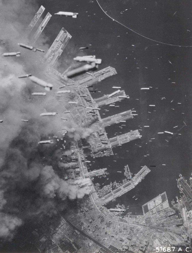 16.-Bombing-of-Kobe-Japan