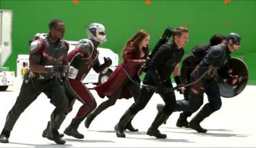 Jak vypadají scény z Captain America: Občanská válka bez efektů?